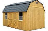 Lofted Barn shed