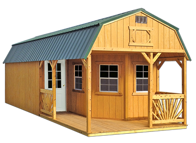 Deluxe Playhouse Package by Old Hickory Sheds and Buildings