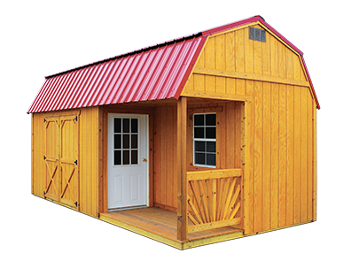 Side Porch Package by Old Hickory Sheds and Buildings